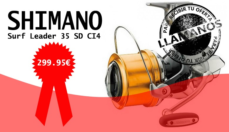 Shimano Surf Leader 35 SD CI4
