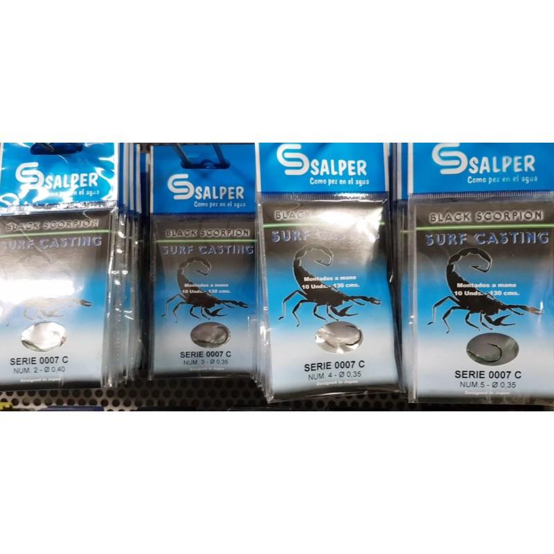 Anzuelos Mustad CHINU 10001 NPBLN Nº2/0 18PZ