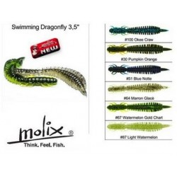 "Molix swimming dragonfly 3`5"" C100  (okee craw)"