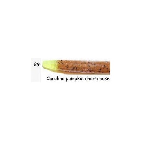 "Yum Dinger 4"" C YD 429 (carolina pumpkin/ chart)"