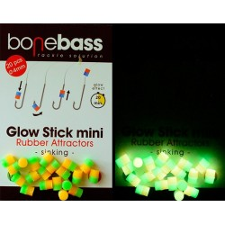BoneBass GLOW   STICK BICOLOR GREEN/YELLOW FLUO  20 UND
