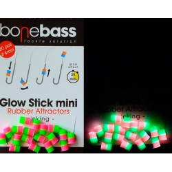 BoneBass GLOW  STICK BICOLOR LEMON/ AVOCADO FLUO  20 UND