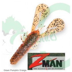 Z Man Turbo CrawZ Red Bone  4""