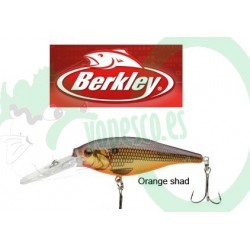 berkley Frenzy Flicker Shad col (orange shad) 7 cm