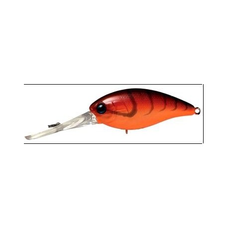 Jackall Mascle Deep  4+ col (Red Craw)