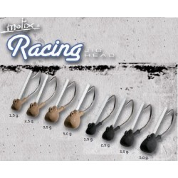 Racing Guard Jig Head anz Nº1  5.0GMS 4UND BLACK