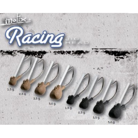 Racing Guard Jig Head anz Nº1  1.5GMS 4UND BLACK